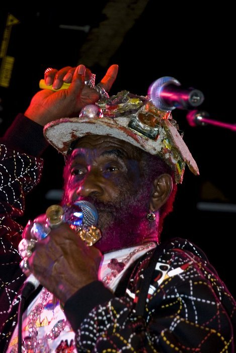 //Lee Perry live in central park tomorrow u punkass bitchezzzzzzzzzzz