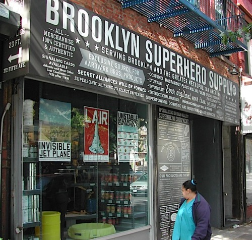 Brooklyn Superhero Supply | diskursdisko
