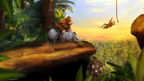 DKC by *Orioto on deviantART