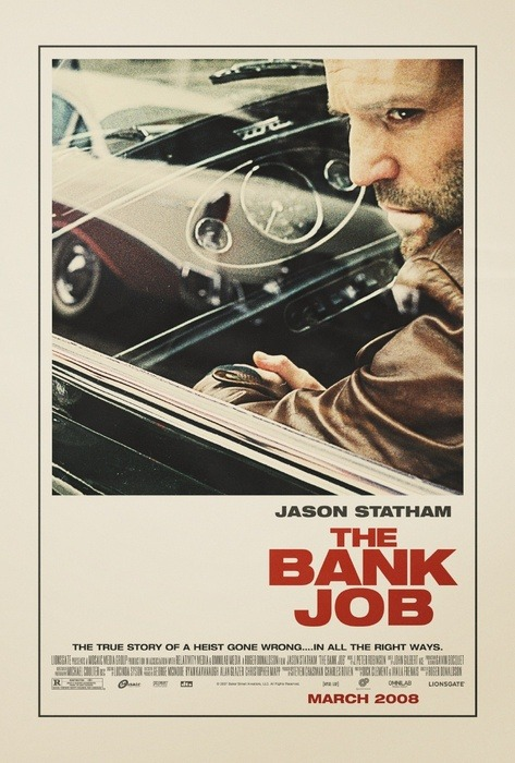 very nice movie poster for The Bank Job