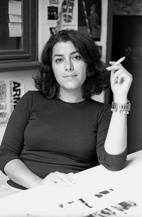 Marjane Satrapi is boss.  I'm reading Embroideries and starting to wonder why I've never gotten into graphic novels until now. (image via Kultur Pont)