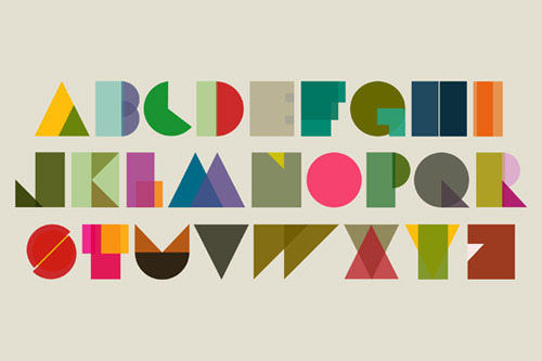 Shape typeset by Tim Fishlock. (via It's Nice That)