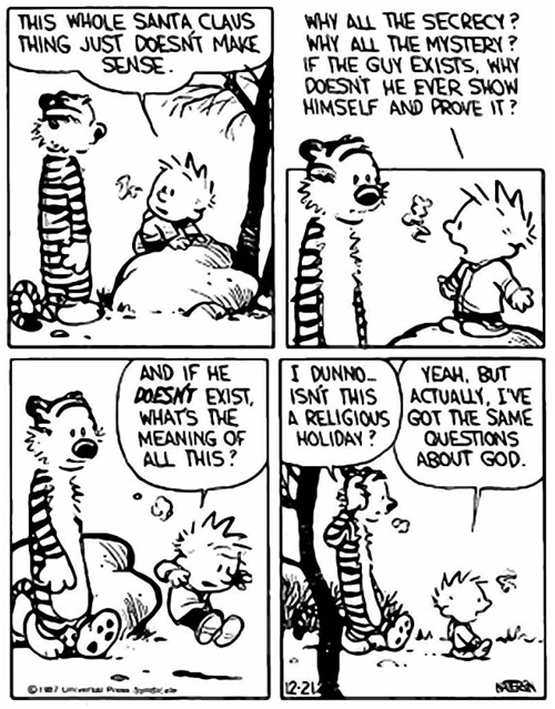 Common Sense Atheism » Calvin the Philosopher