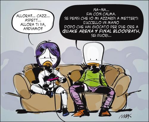 Una vignetta di Marco D'ambrosio