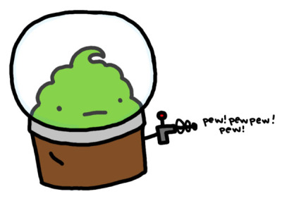 faneffingtastic: I found you a space cupcake saying 'pew pewpew pew' just for your birthday. Hope you like it, @nicky36!