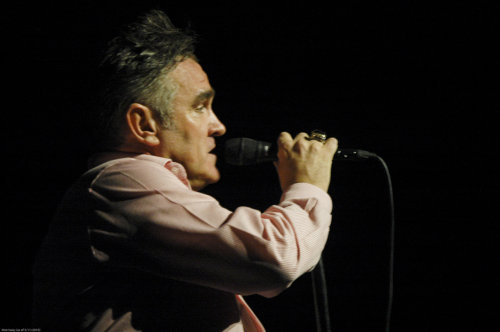 "Morrissey: ""Well, that's the band. And me?"" (pause) ""Well, I just SWEEP UP!"""