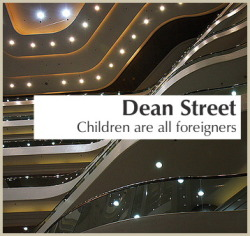 Album cover generator. Dean Street, Children are all foreigners. (Crédit photo)