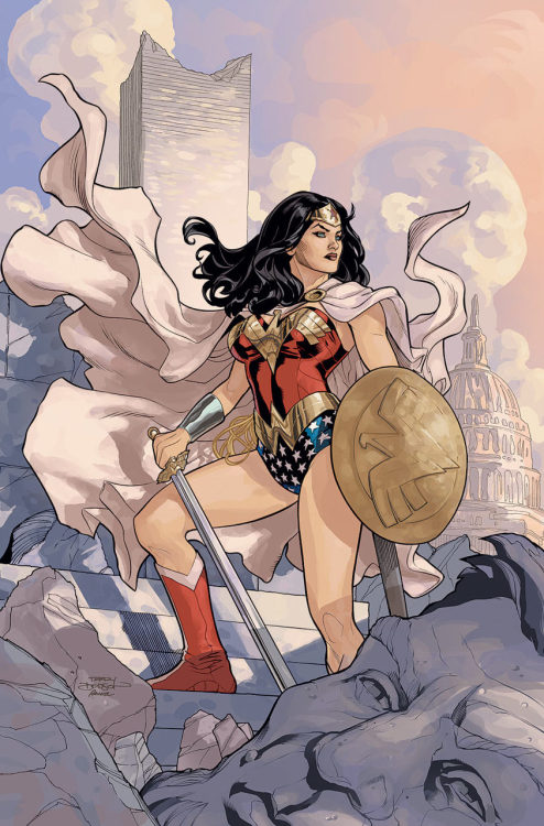 Wonder Woman #13 by Gail Simone and Terry & Rachel Dodson