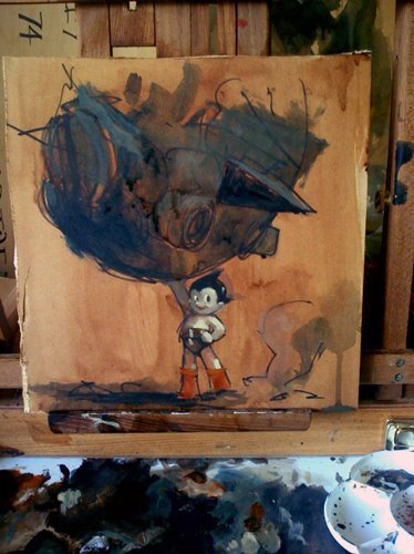 Astro Boy coming soon from IDW Publishing art by Ashley Wood