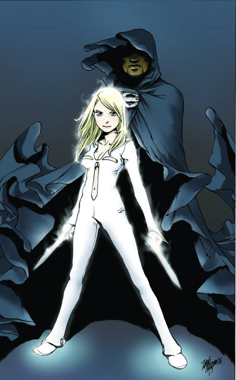Cloak & Dagger by Valerie D'Orazio and Irene Flores (promo cover art by Takeshi Miyazawa)
