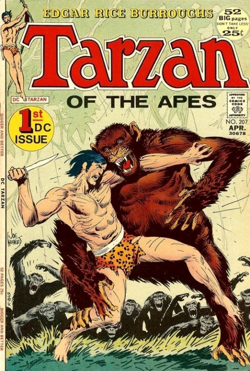 Tarzan #207 by Joe Kubert