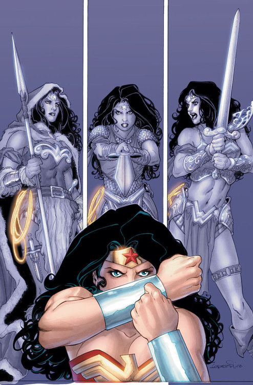 Wonder Woman #20 by Gail Simone and Aaron Lopresti