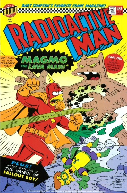 Radioactive Man #88 by Steve & Cindy Vance, Bill Morrison and Matt Groening