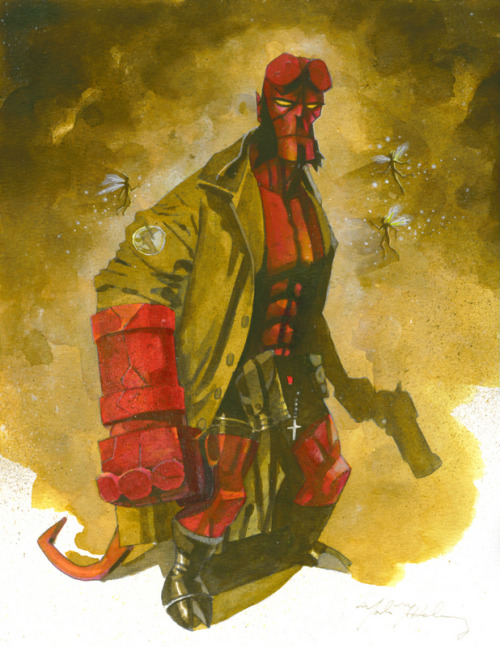 Hellboy by Mark McHaley