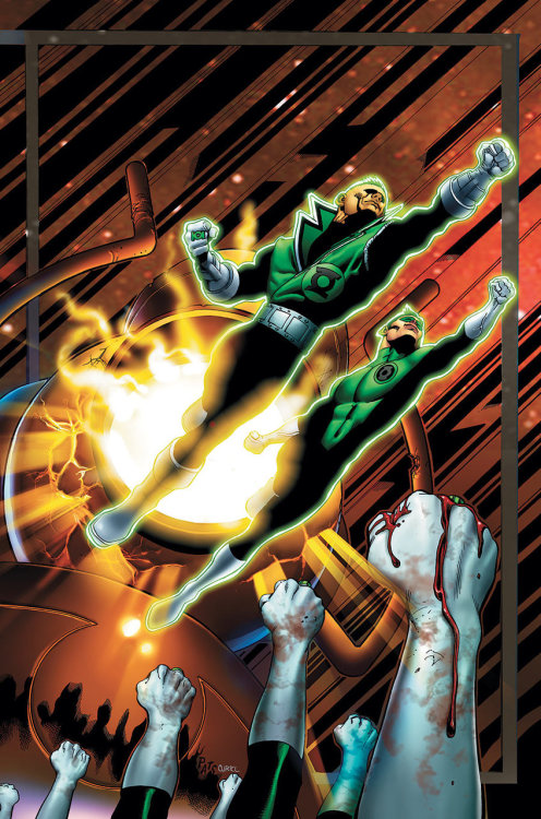 Green Lantern Corps #18 by Peter J. Tomasi and Patrick Gleason