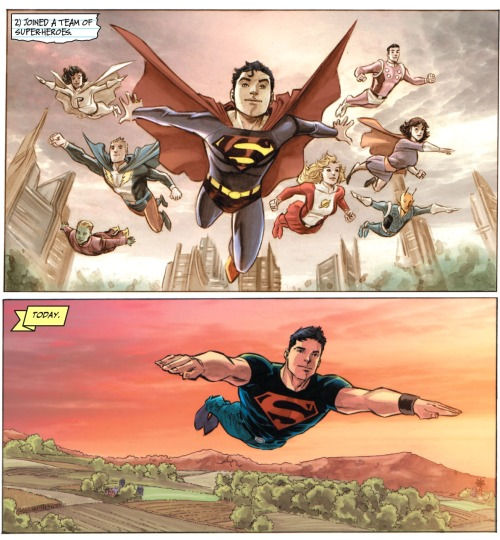 5-page Preview: Adventure Comics #1 by Geoff Johns and Francis Manapul