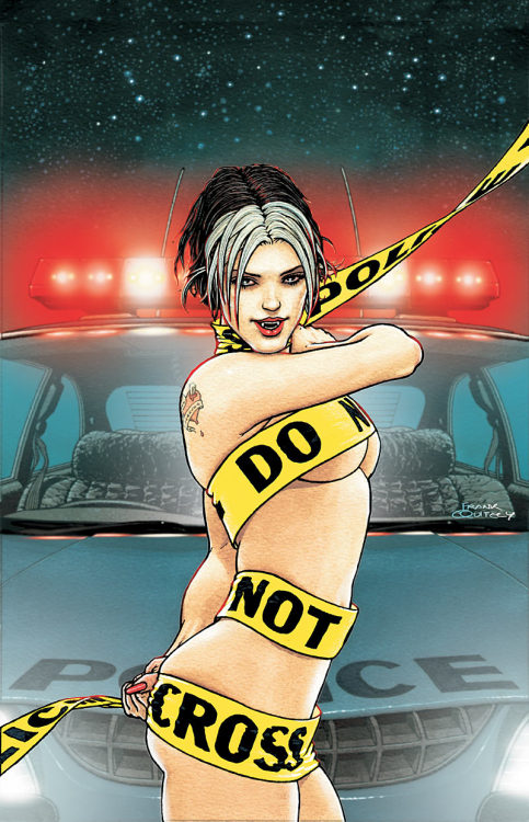 Bite Club: Vampire Crime Unit # 1 by Frank Quitely