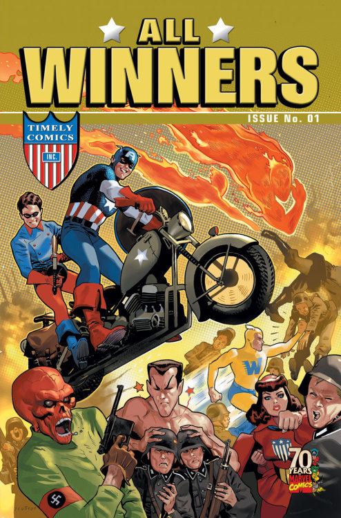 All Winners 70th Anniversary Special by Karl Kesel and Steve Uy cover art by Daniel Acuña