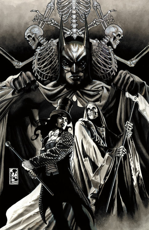 Detective Comics #834 cover art by Simone Bianchi