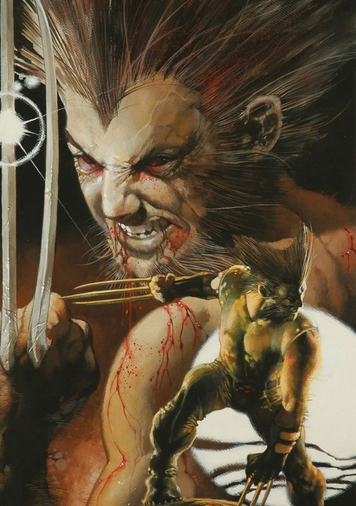 Wolverine: The Amazing Immortal Man and Other Bloody Tales  cover art by Simone Bianchi