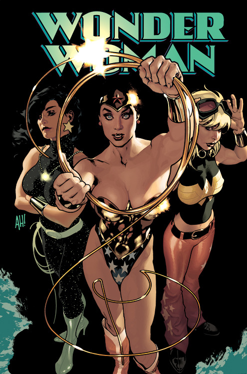 Wonder Woman #186 by Adam Hughes