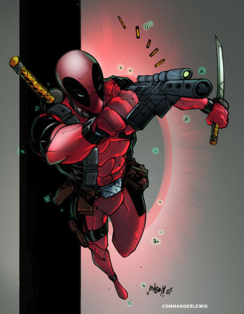Deadpool by Jonboy Meyers, David S. and Ryan Lewis
