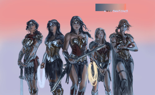 Wonder Women by Mina Rho