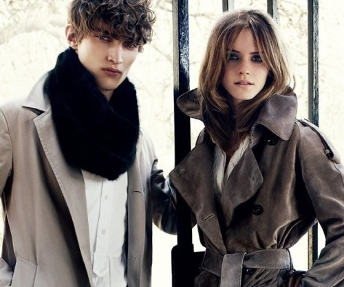 Emma Watson for Burberry Winter.